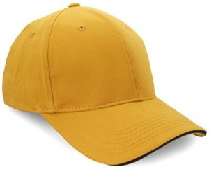 Yellow ball cap