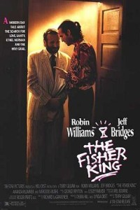 "Robin Williams and Jeff Bridges in ""The Fisher King."""